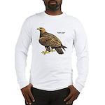 Golden Eagle Bird (Front) Long Sleeve T-Shirt
