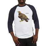 Golden Eagle Bird Baseball Jersey