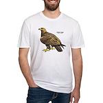 Golden Eagle Bird Fitted T-Shirt