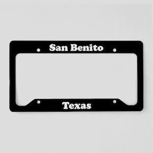 San Benito TX - LPF License Plate Holder
