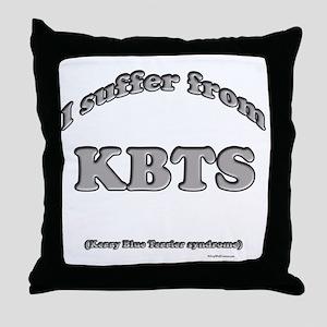 Kerry Blue Syndrome2 Throw Pillow