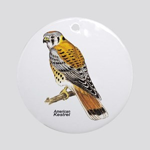 American Kestrel Bird Keepsake (Round)