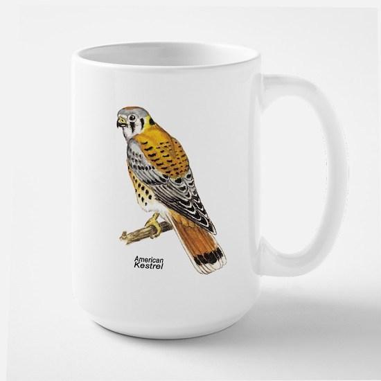American Kestrel Bird Large Mug