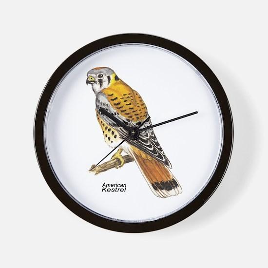 American Kestrel Bird Wall Clock