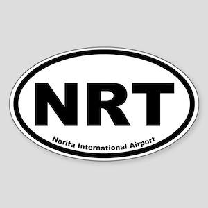 Narita International Airport Oval Sticker