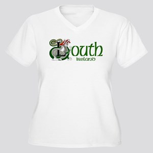 County Louth Women's Plus Size V-Neck T-Shirt