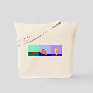 TRIATHLON SILHOUETTE LIGHT Tote Bag