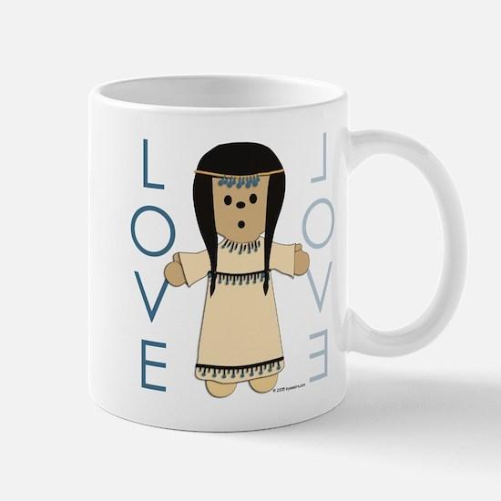 Ethnic Love Doll - no. 1 Mug