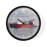 Rt. Hon. Paul J. Martin Wall Clock