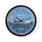 Manitowoc Wall Clock