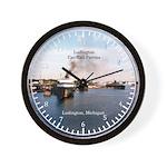 Ludington Car Ferries Wall Clock