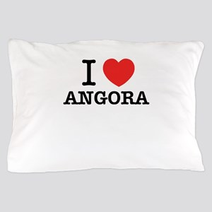 I Love ANGORA Pillow Case