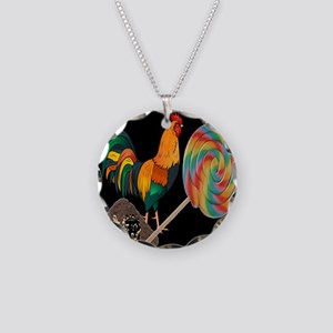 Dirty Cock Sucker humor Necklace Circle Charm