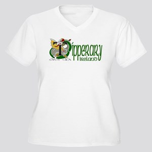 County Tipperary Women's Plus Size V-Neck T-Shirt