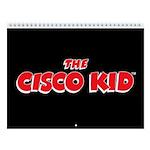 Cisco Kid & Pancho 2018 12-Month Wall Calendar