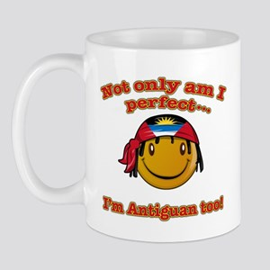 Not only am I perfect I'm Antiguan too! Mug