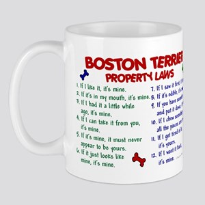 Boston Terrier Property Laws 2 Mug