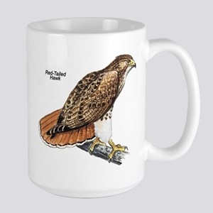 Red-Tailed Hawk Bird Large Mug