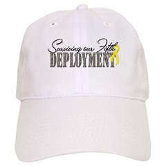 Surviving Our Fifth Deployment Baseball Cap