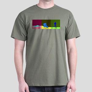 TRIATHLON SILHOUTTE DARK Dark T-Shirt