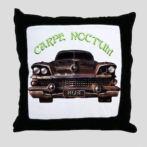 Carpe Noctum Throw Pillow