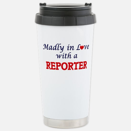 Madly in love with a Re Stainless Steel Travel Mug