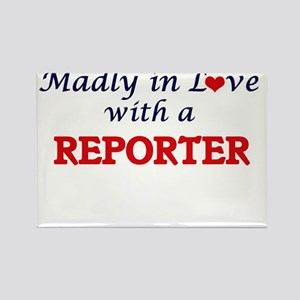 Madly in love with a Reporter Magnets