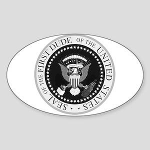The First Dude Sticker