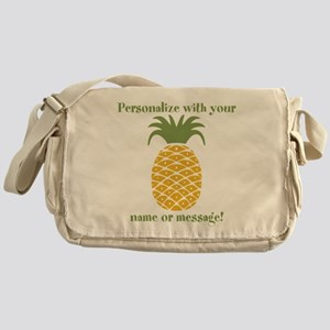 PERSONALIZED Pineapple Messenger Bag