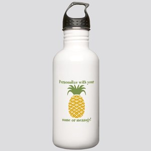 PERSONALIZED Pineapple Water Bottle