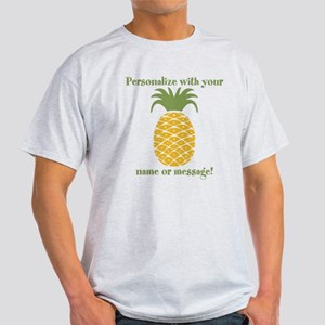 PERSONALIZED Pineapple T-Shirt