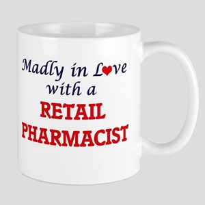 Madly in love with a Retail Pharmacist Mugs
