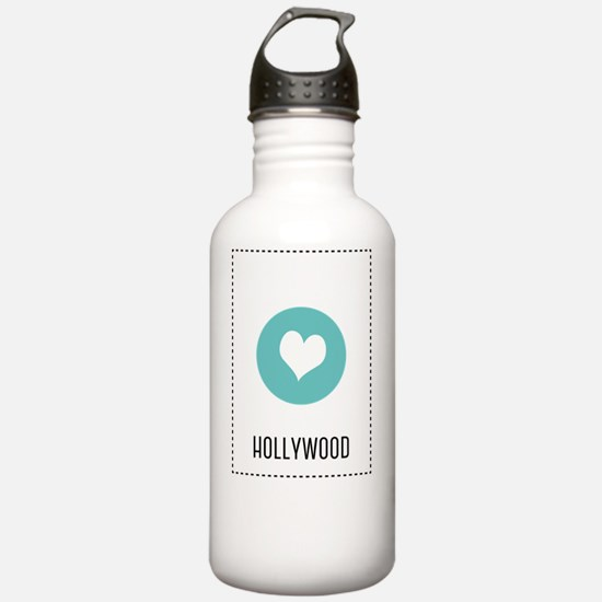 I Love Hollywood Water Bottle