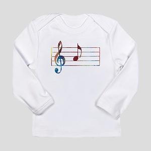 Musical Note Long Sleeve T-Shirt