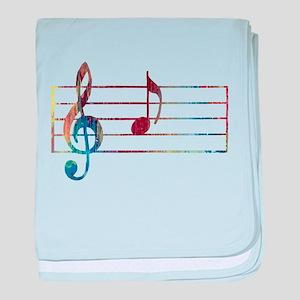 Musical Note baby blanket