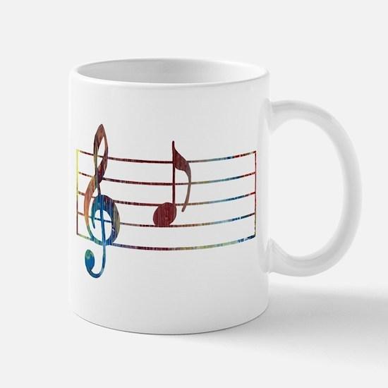 Musical Note Mugs
