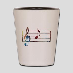 Musical Note Shot Glass