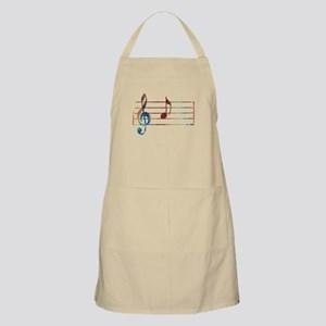 Musical Note Apron