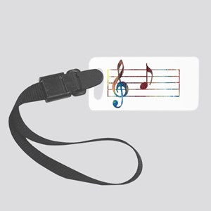 Musical Note Small Luggage Tag