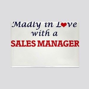 Madly in love with a Sales Manager Magnets