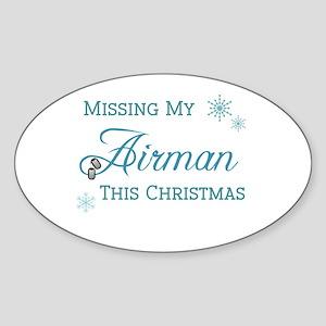 Airman Oval Sticker
