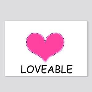 LOVEABLE Postcards (Package of 8)