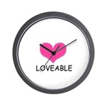 LOVEABLE Wall Clock