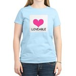LOVEABLE Women's Pink T-Shirt