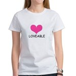 LOVEABLE Women's T-Shirt