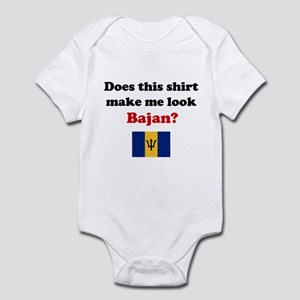 Make Me Look Bajan Infant Bodysuit