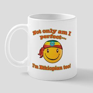 Not only am I perfect i'm Ethiopian too! Mug