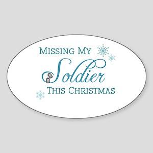 Soldier Oval Sticker