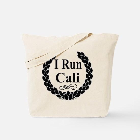 I Run Cali Tote Bag