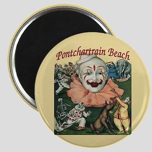 Pontchartrain Beach Poster Magnet